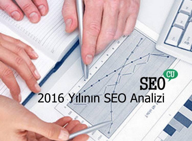 2016 SEO Analizi