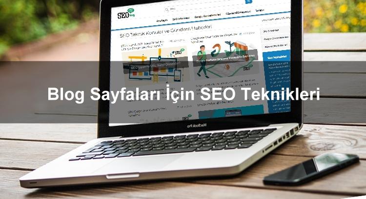 Blog Sayfaları İçin SEO Teknikleri