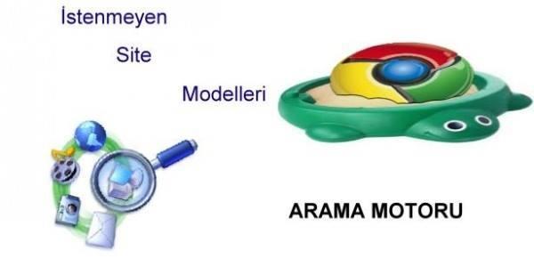 Arama Motoru Tarafından İstenmeyen Site Modelleri