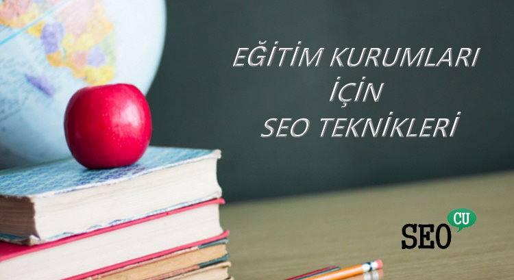 Eğitim Kurumları için SEO Teknikleri ve Önerileri