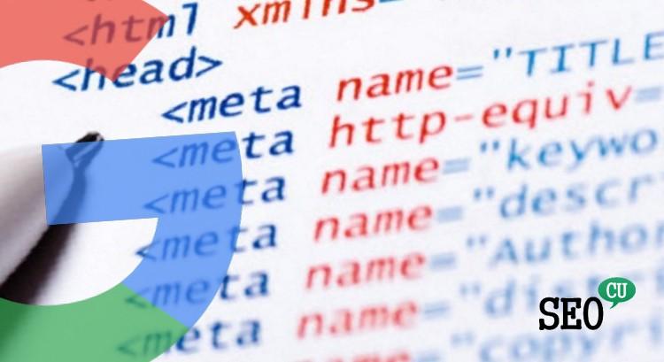 Google Meta Etiketleri ve SEO Parametreleri