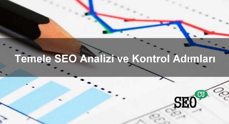 Temel SEO Analizi ve Kontrol Adımları